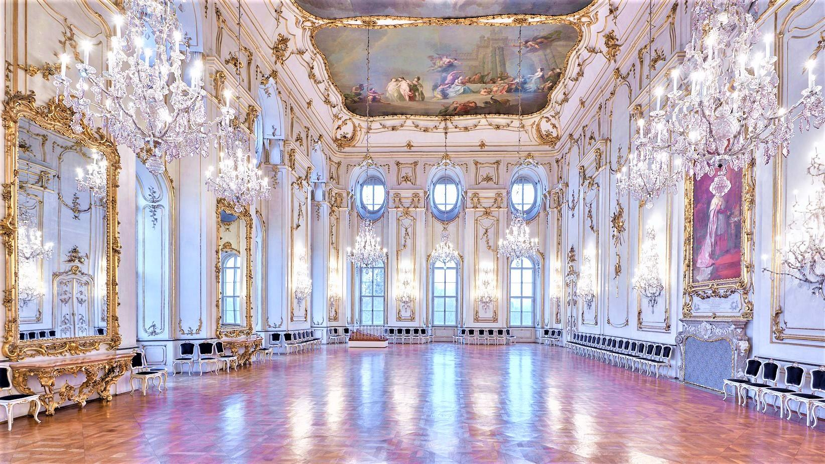 The Great Dining Hall was rebuilt because of the important event - The Constitutive Assembly of the Austrian Nations. Todays it is one of the largest Roccoco halls in the Czech Republic. – © Tomas Vrtal