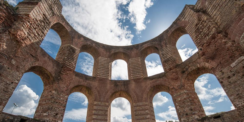 Going to the baths was an important part of Roman life and the Imperial Baths in Trier, were built 1600 years ago. – © Trier Tourismus und Marketing GmbH