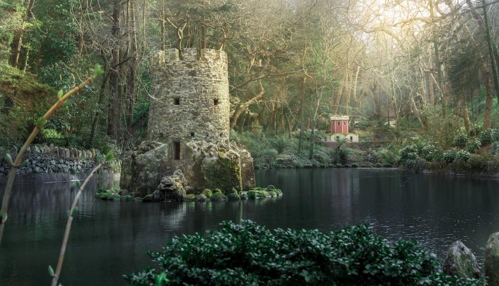 La vallée des Lacs, dans le parc du palais national de Pena. – © PSML / EMIGUS