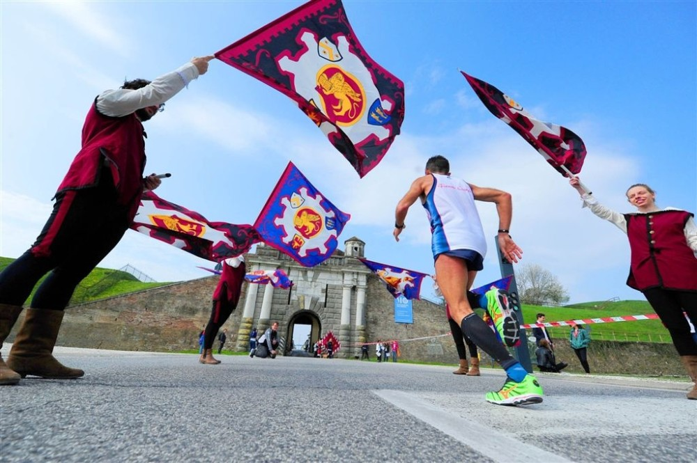 The marathon symbolically unites the two centres of Cividale and Aquileia. – © PromoTurismoFVG