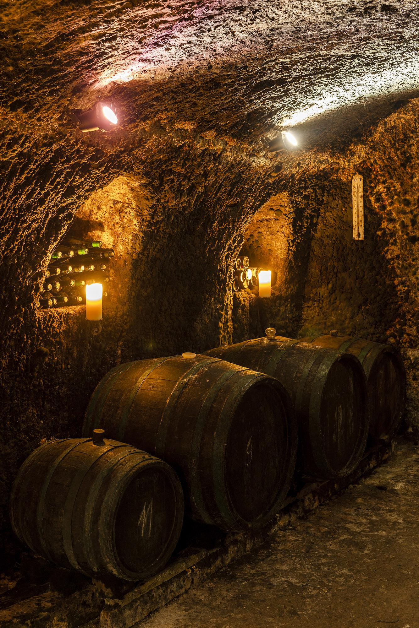The wine cellar in Tokaj is indicative of the region, which has a unique geological position, climatic conditions, and biodiversity. - © Richard Semik