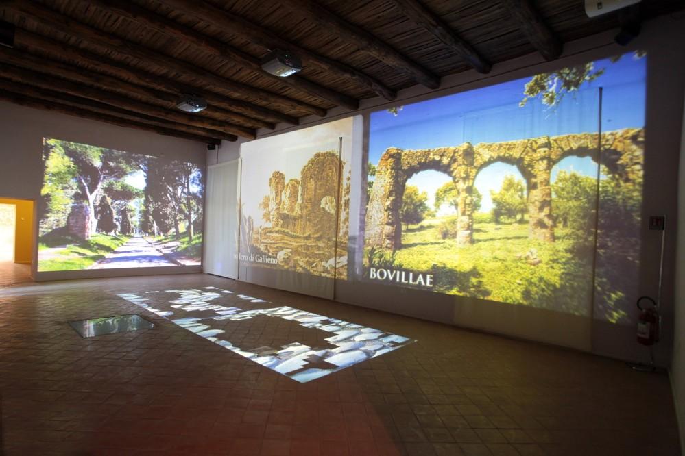 Multimedia Room Via Appia at the Archaeological Museum of Ancient Calatia – © Archivio Polo Museale della Campania