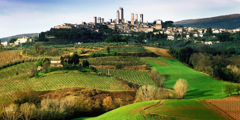 San Gimignano a conservé son apparence des temps médiévaux grâce à son intégrité architecturale et son aménagement urbain intact. – © Andrea Migliorini