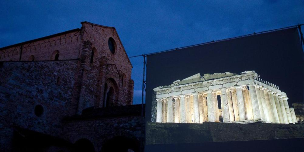 The Aquileia Film Festival provides a unique cinema experience and opportunity to learn about the most fascinating archaeological sites of the world through film and expert discussions. – © Gianluca Baronchelli