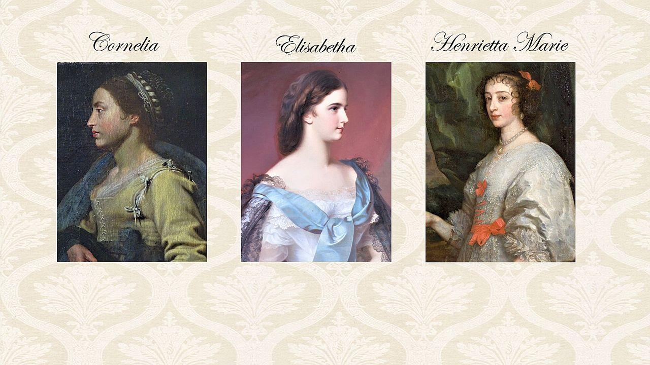 Cornelia, Elisabetha and Henrietta Marie. What type of wedding ceremony is the best one for you - © Archive of the Archiepiscopal Castle