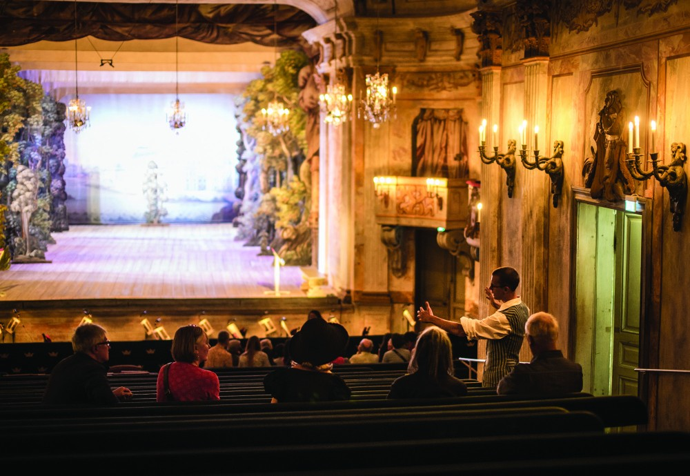 Time for questions and maybe some silence in the beautiful auditorium. – © Elias Gammelgård