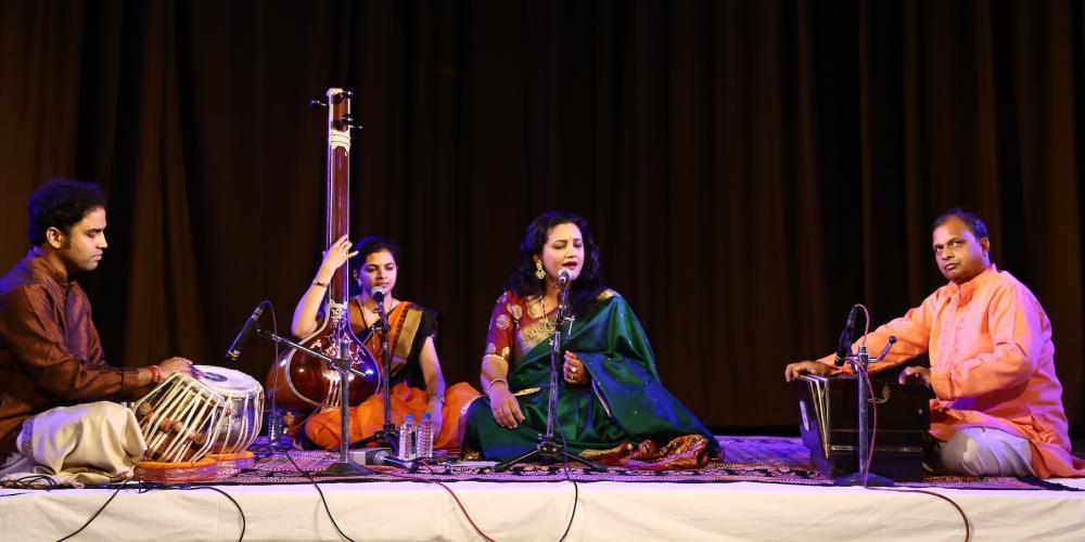 Ruchira Kala performing Hindustani Classical music – © MP Tourism