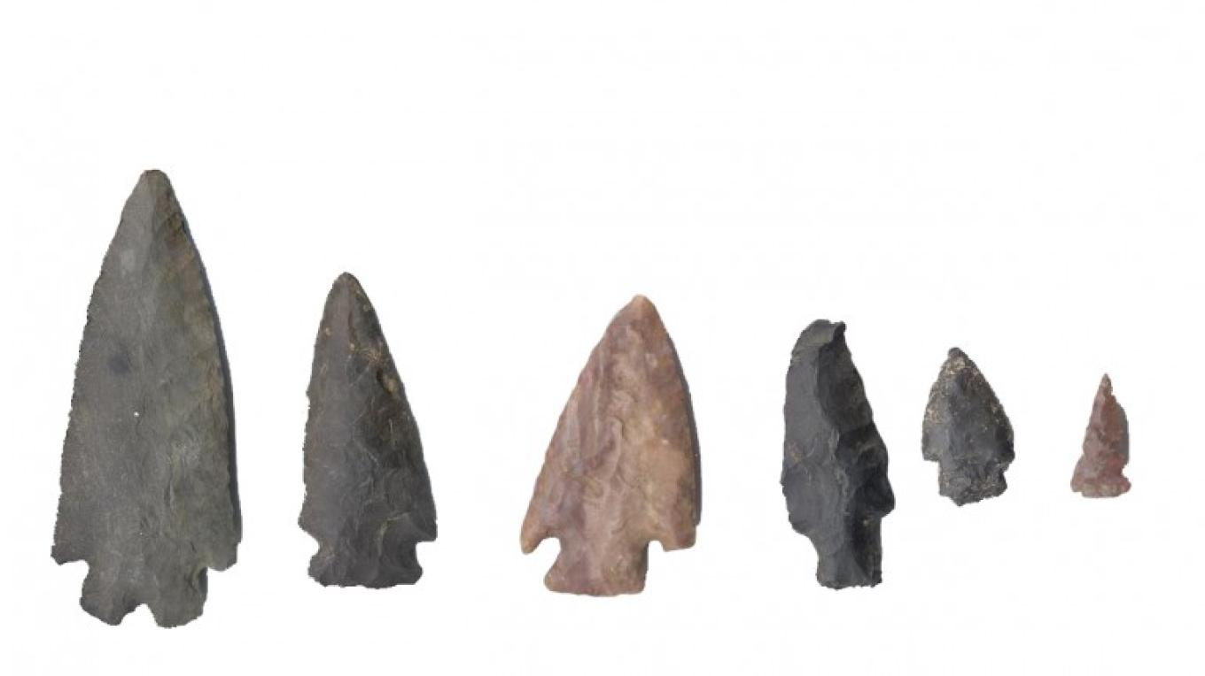 Projectile Points – Waterford Historical Museum and Cultural Center