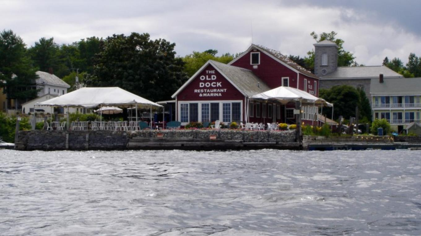 The Old Dock, one of several dinning options in Essex during the summer. – Courtesy of Cathy Frank