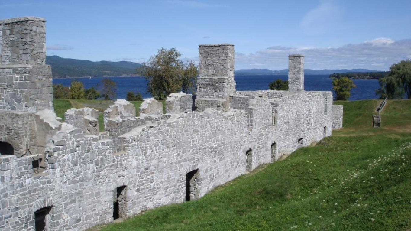 The fort of Crown Point. – Cathy Frank