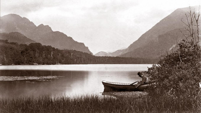 Upper Ausable Lake, ca. 1880 – S. R. Stoddard