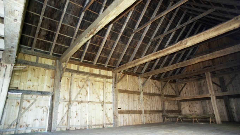 Scottish Barn interior – The Persistence Foundation