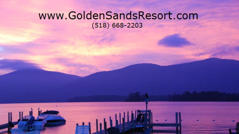 Golden Sands on Lake George Sunrise