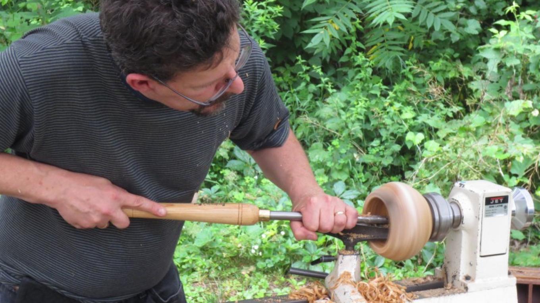 Wood turning. – Adirondack Folk School