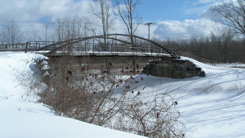 Wintertime at Whipple Bridge – Myla Kramer