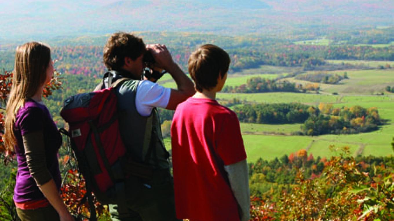Gorgeous views of the Boquet Valley atop Coon Mountain – Chris Maron