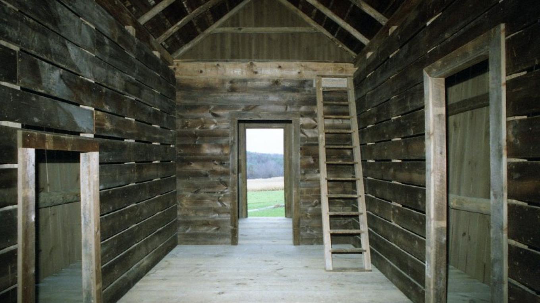 Corn Crib interior – The Persistence Foundation