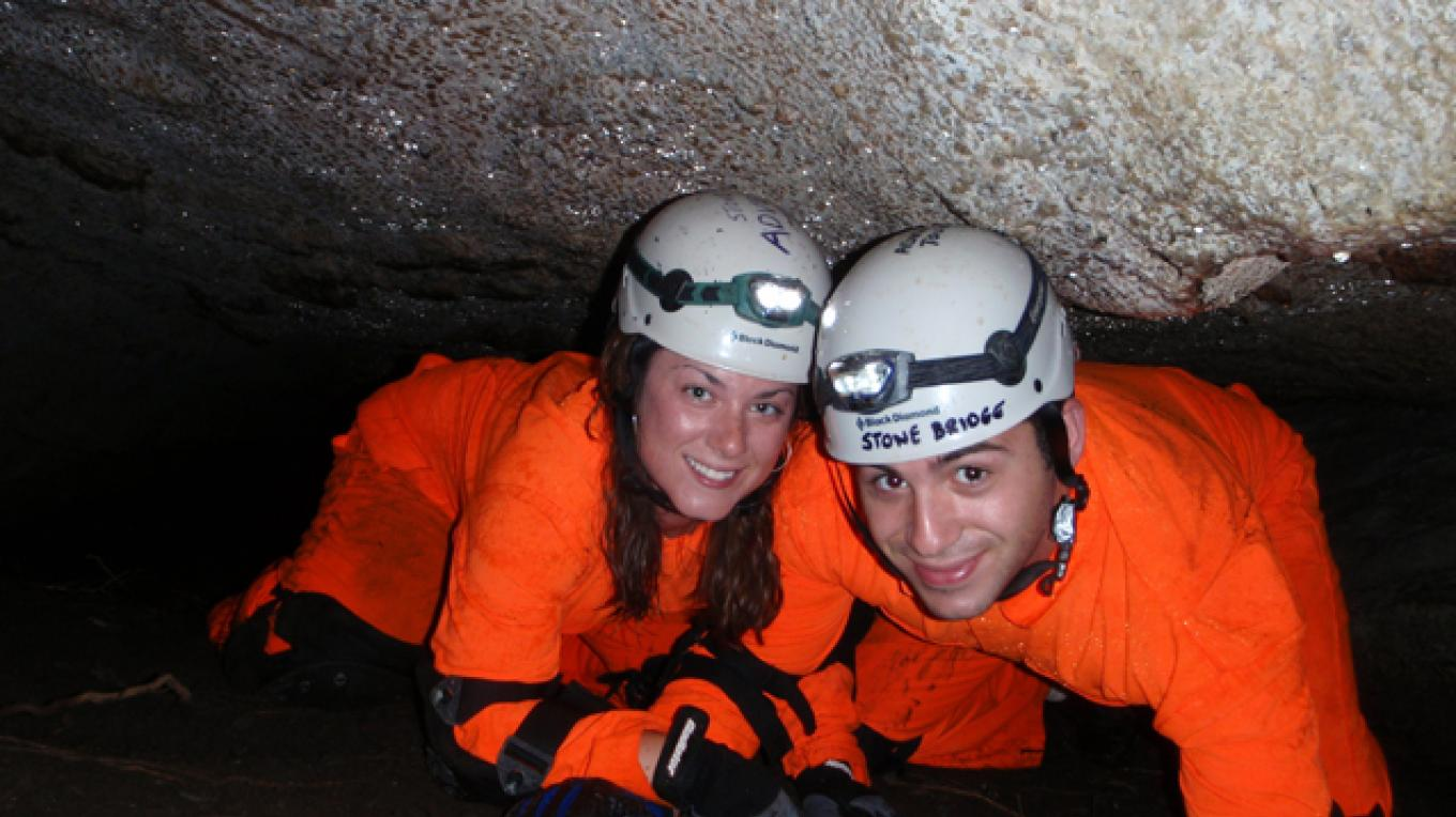 Adventure Tour.  Ready for a date in Kelly's Slide Cave? – Greg Beckler