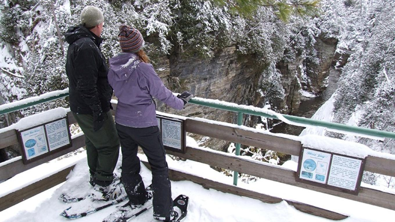 Ausable Chasm – Regional Office of Sustainable Tourism - Lake Placid CVB