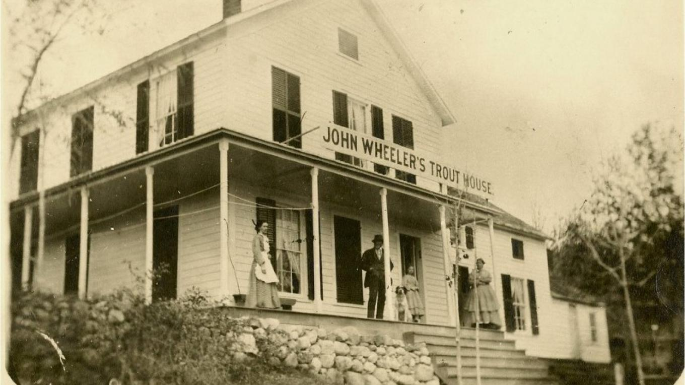 Wheeler's Trout House in Hague, NY – Hague Historical Society