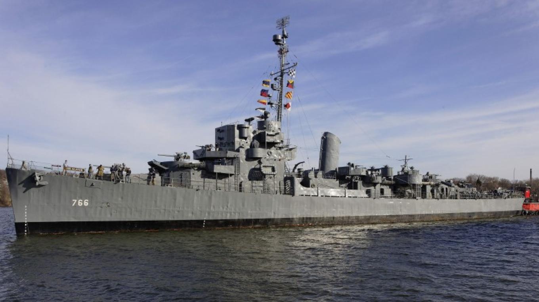 USS Slater DE766, Hudson River