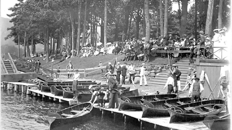 Guideboats – Lake George Mirror