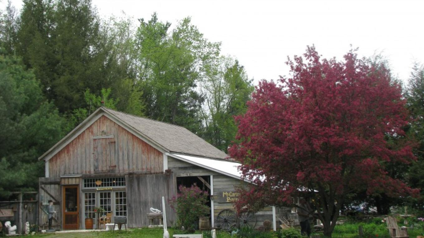 McCartee's Barn open now by appointment and on Facebook. Signup and become a friend! – Sue Clary