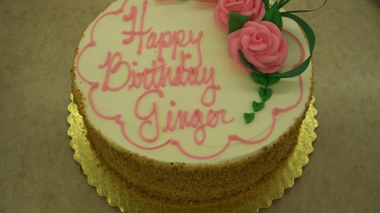 "8"" birthday cake"