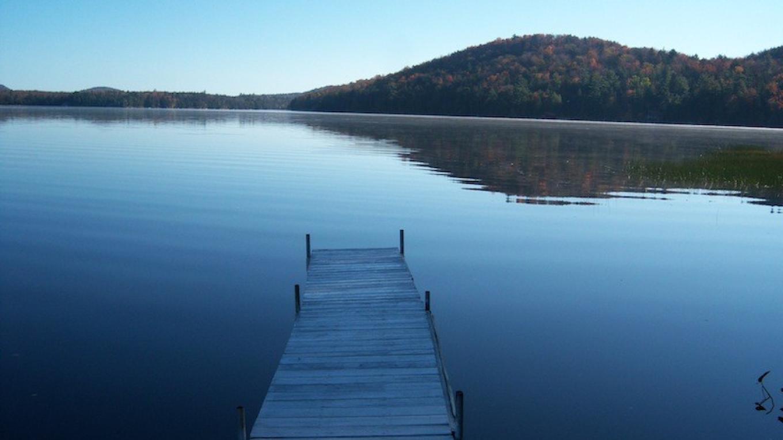 Lone Dock Adirondack Lake – David Webb