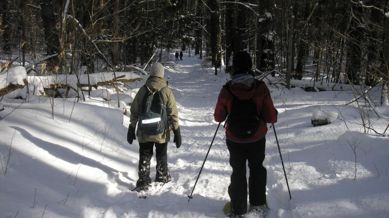 Poke-O-Moonshine Trail is great for hiking, walking and skiing. – Chris Maron