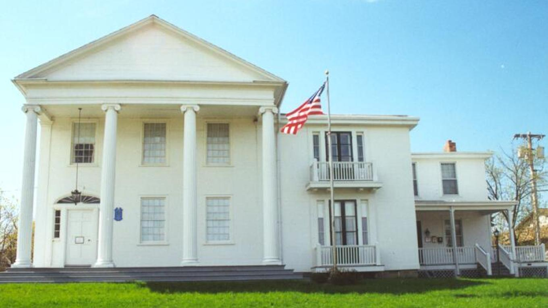 The 1830 Hugh White Homestead, home of the WHMCC. – Brad Utter
