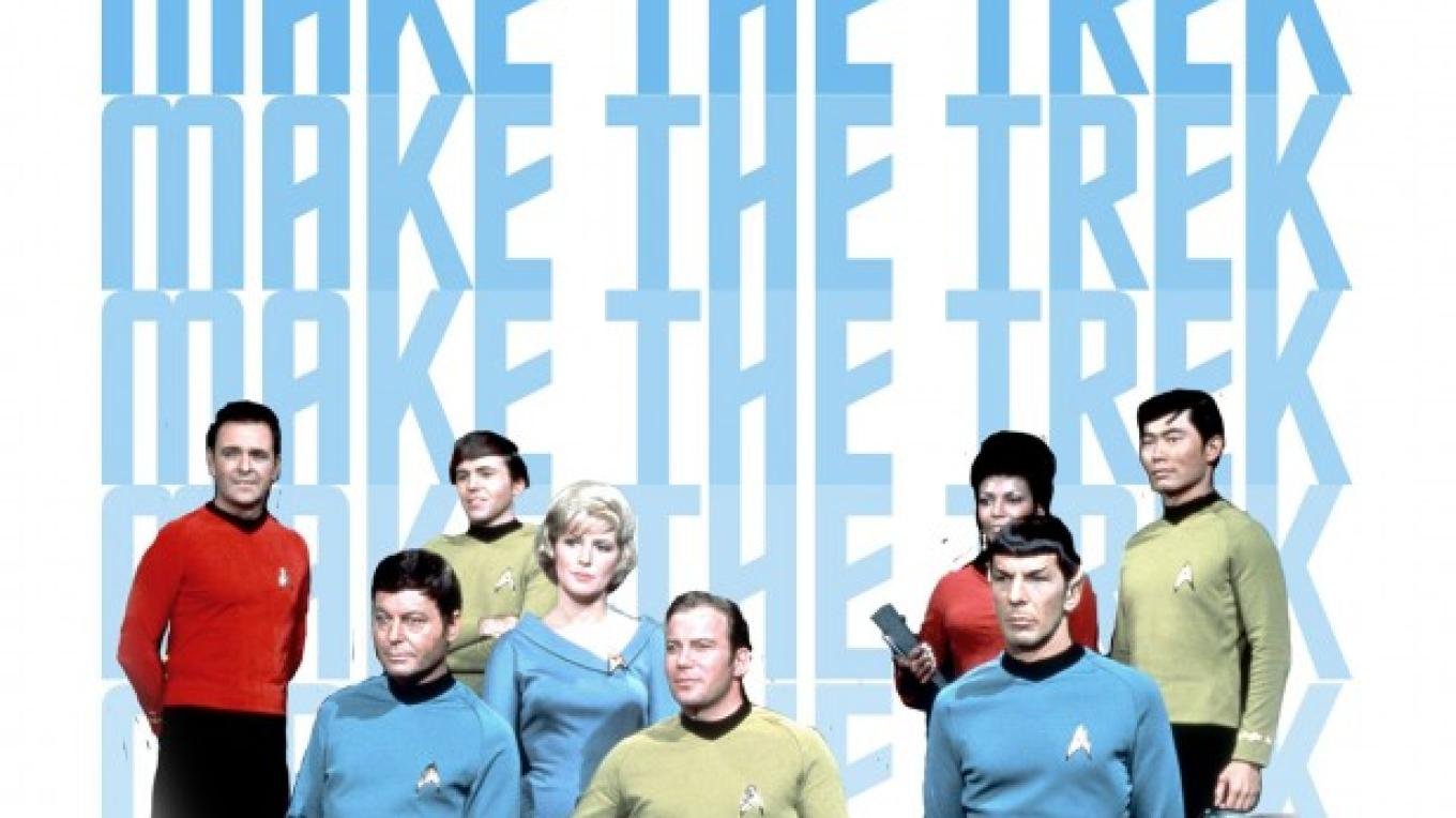 One promotional poster - Trekonderoga & Star Trek Tour. – Trekonderoga Staff