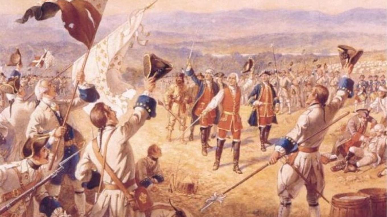 The Victory of Montcalm's Troops at Carillion – Henry Alexander Ogden