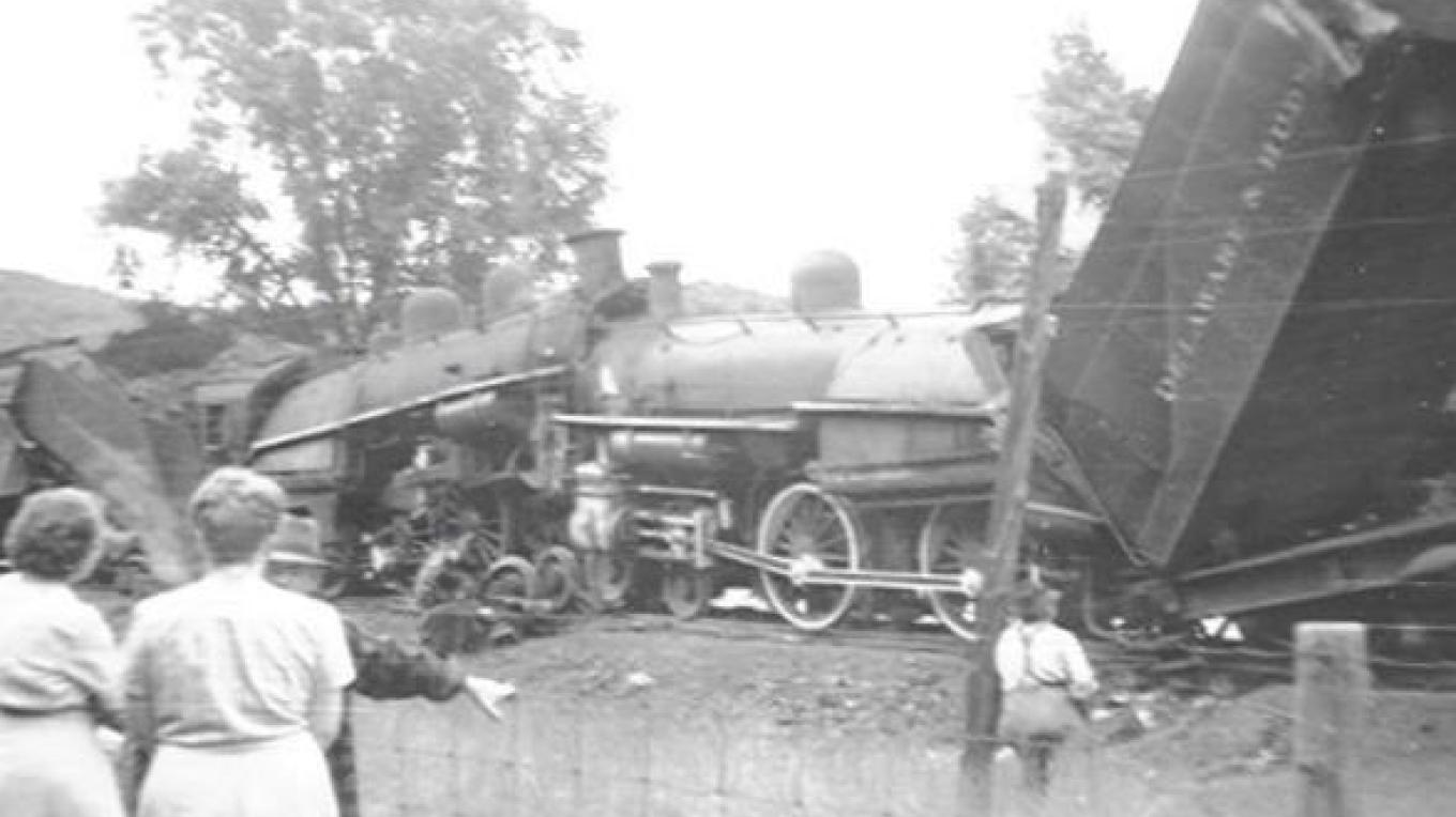 Two trains collided head-on August 26, 1946. – Unknown