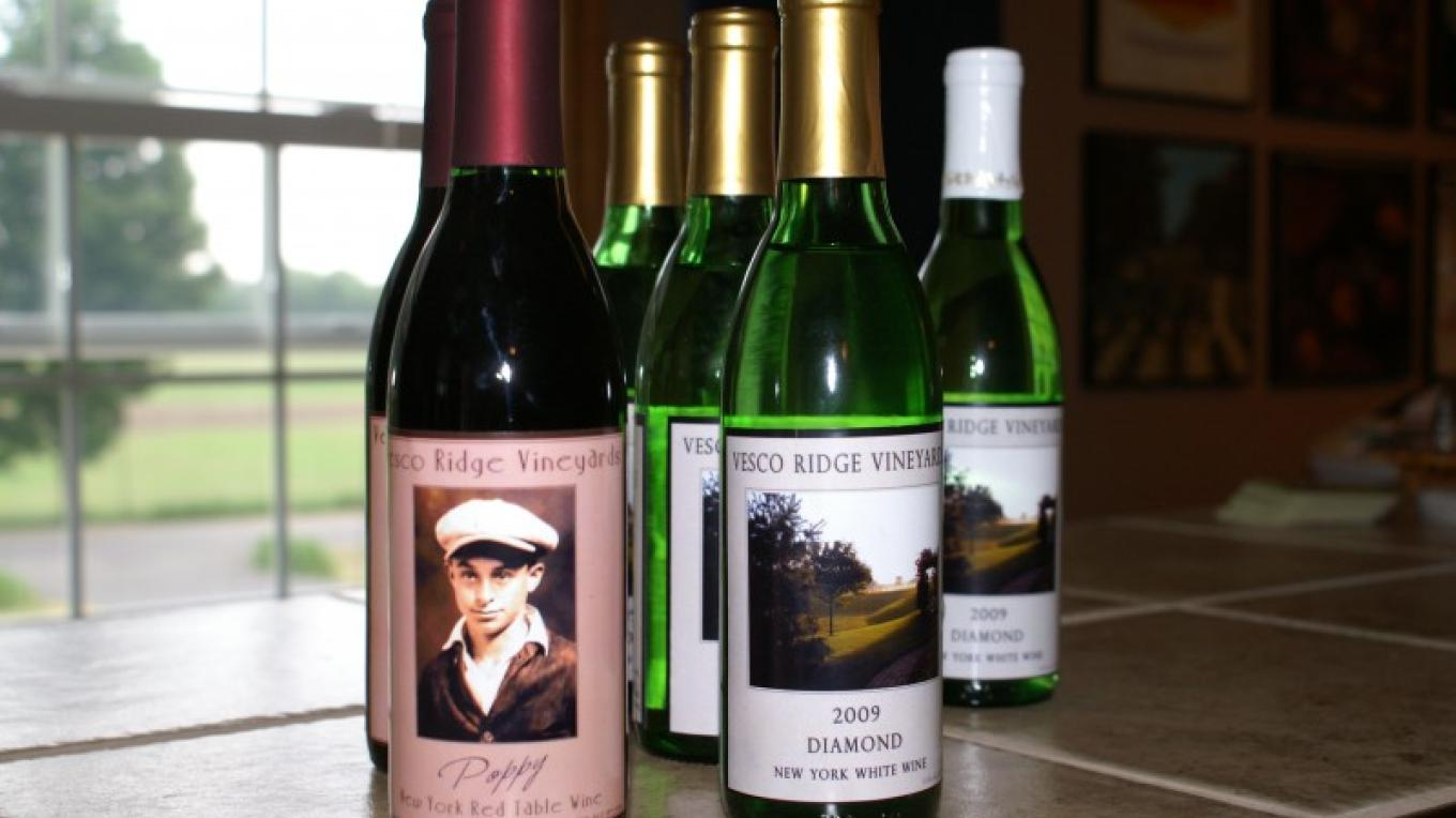 Try our wine!! – Dan Vesco