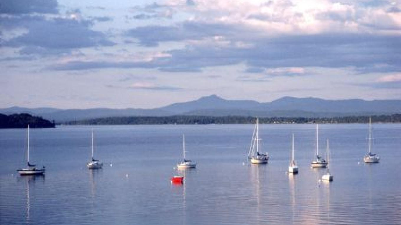 Sailboats moored on Lake Champlain – Lake Placid/Essex County Visitors Bureau