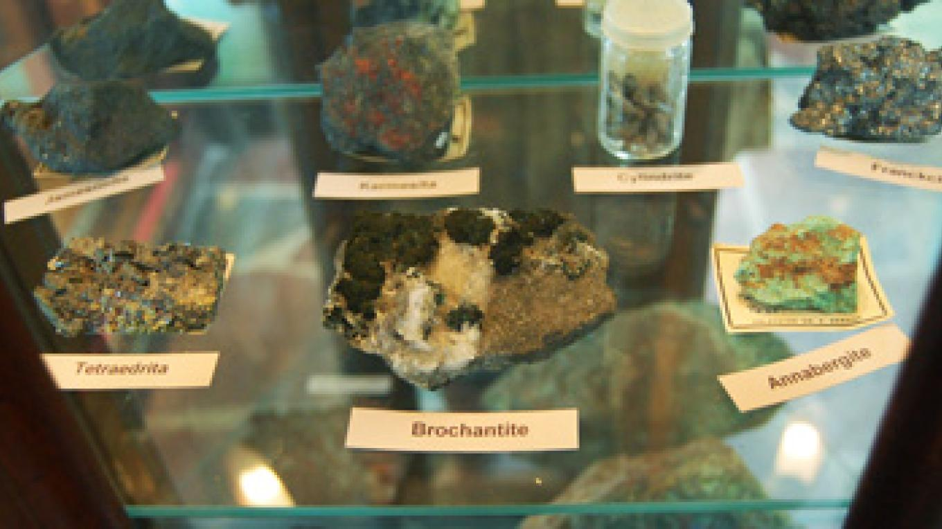 Mineral Display – Georgi Museum