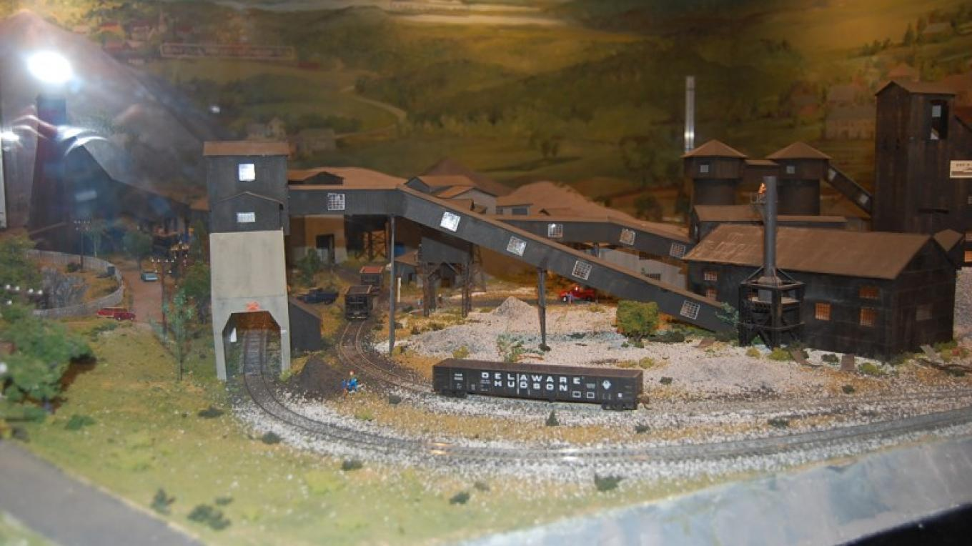 Diorama at the museum. – Staff Photo