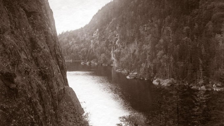 Avalanche Lake, ca. 1890 – S. R. Stoddard