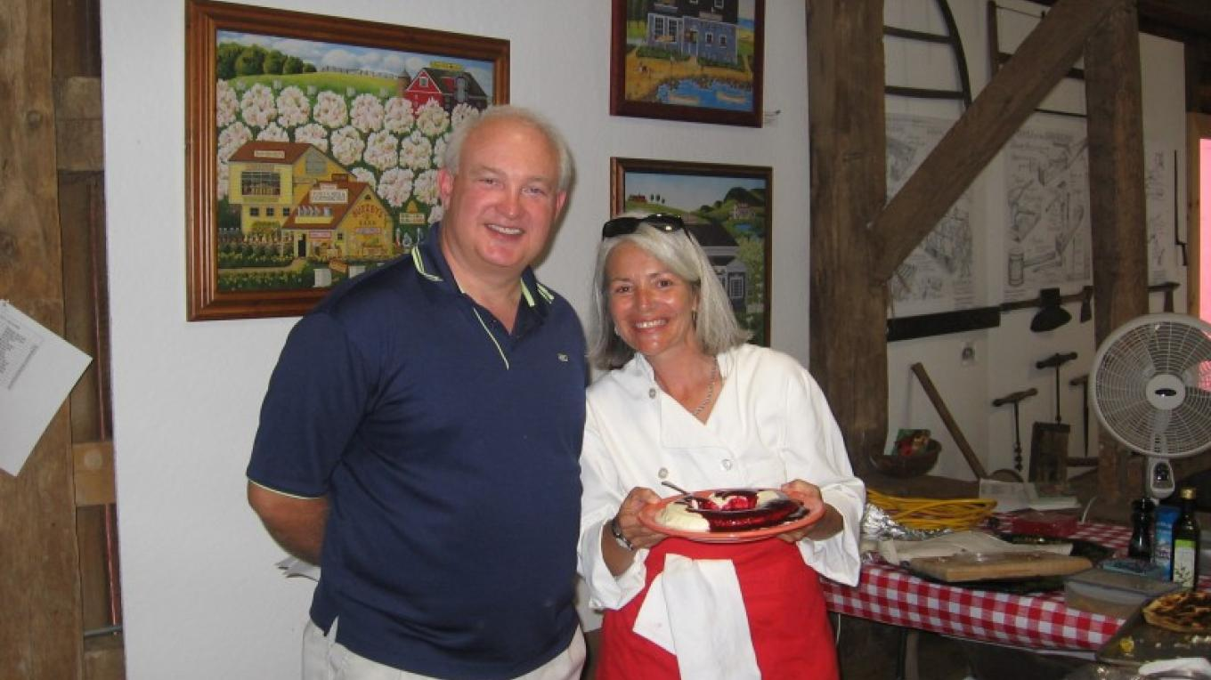 Chef Annette Nielsen and Cheesemaker Jeff Bowers – R. Southerland