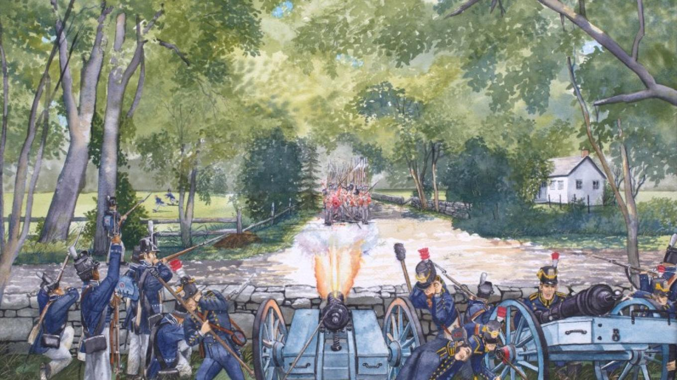 Skirmish at Halsey'sCorners, September 6, 1814 – John Purdy