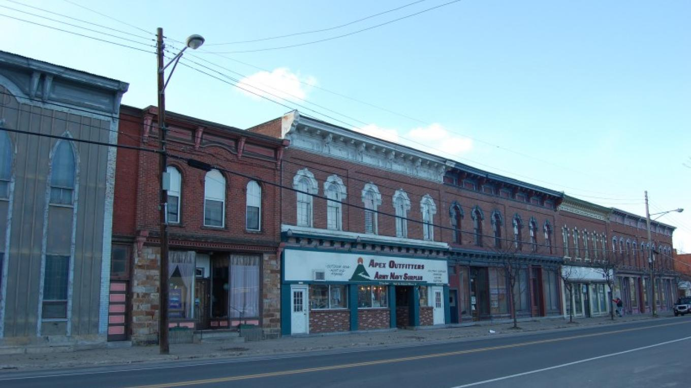 Downtown Keeseville – Adirondack Architectural Heritage Photograph Collection