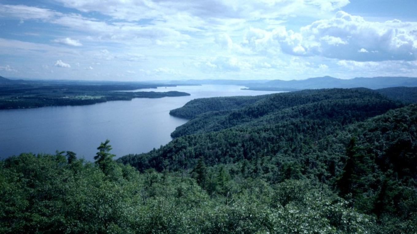 View of Lake George from Cook Mountain – Gary Randorf