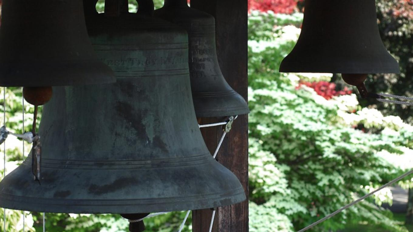 Bells at the Bell Tower at New Skete – Br. Marc