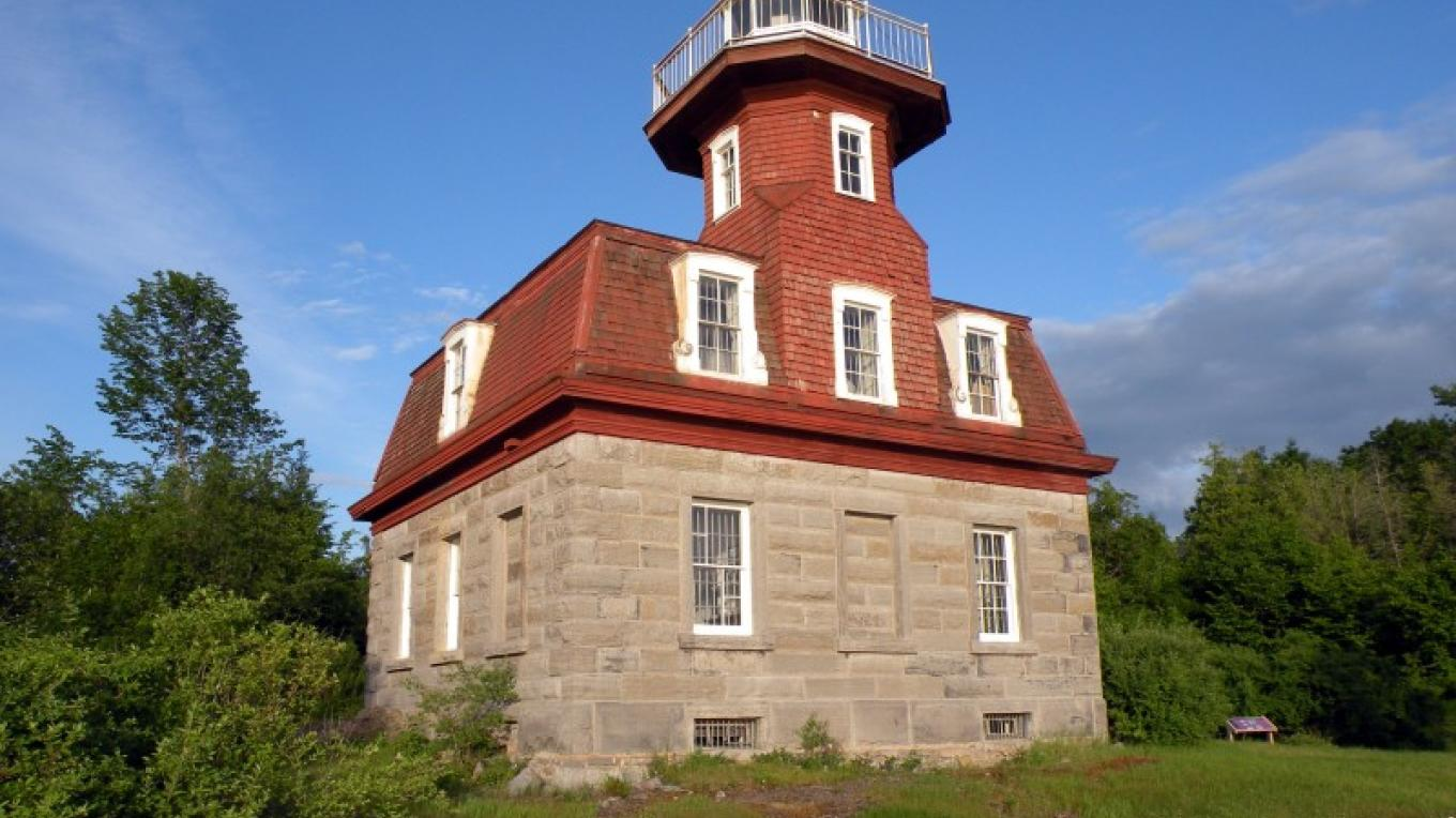 Bluff Point Lighthouse on Valcour Island is open to the public on Sundays in summertime. – Roger Harwood