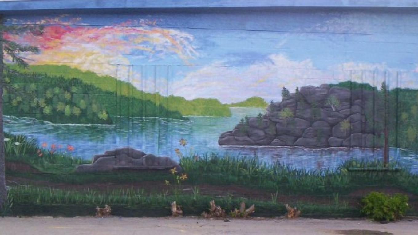 Corinth Mural off Mallory St. – Sher Millis