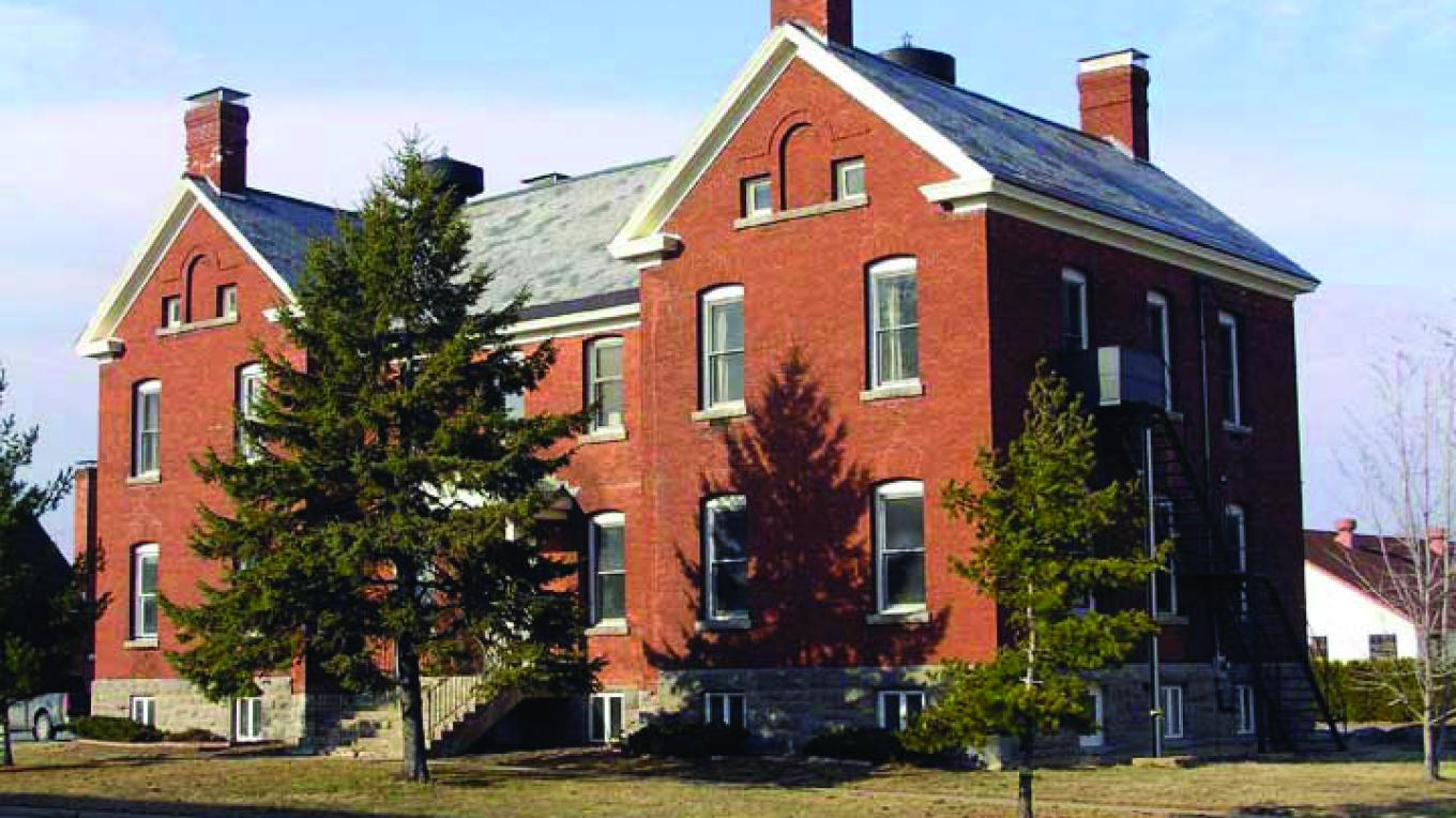 Clinton County Historical Museum on the US Oval Museum Campus. – Roger Harwood