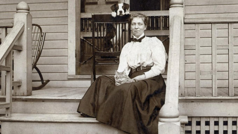 Alice Trainer, ca. 1894