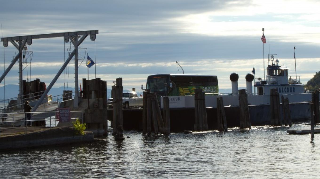 Port Kent Ferry. – Adirondack Coast Visitors Bureau