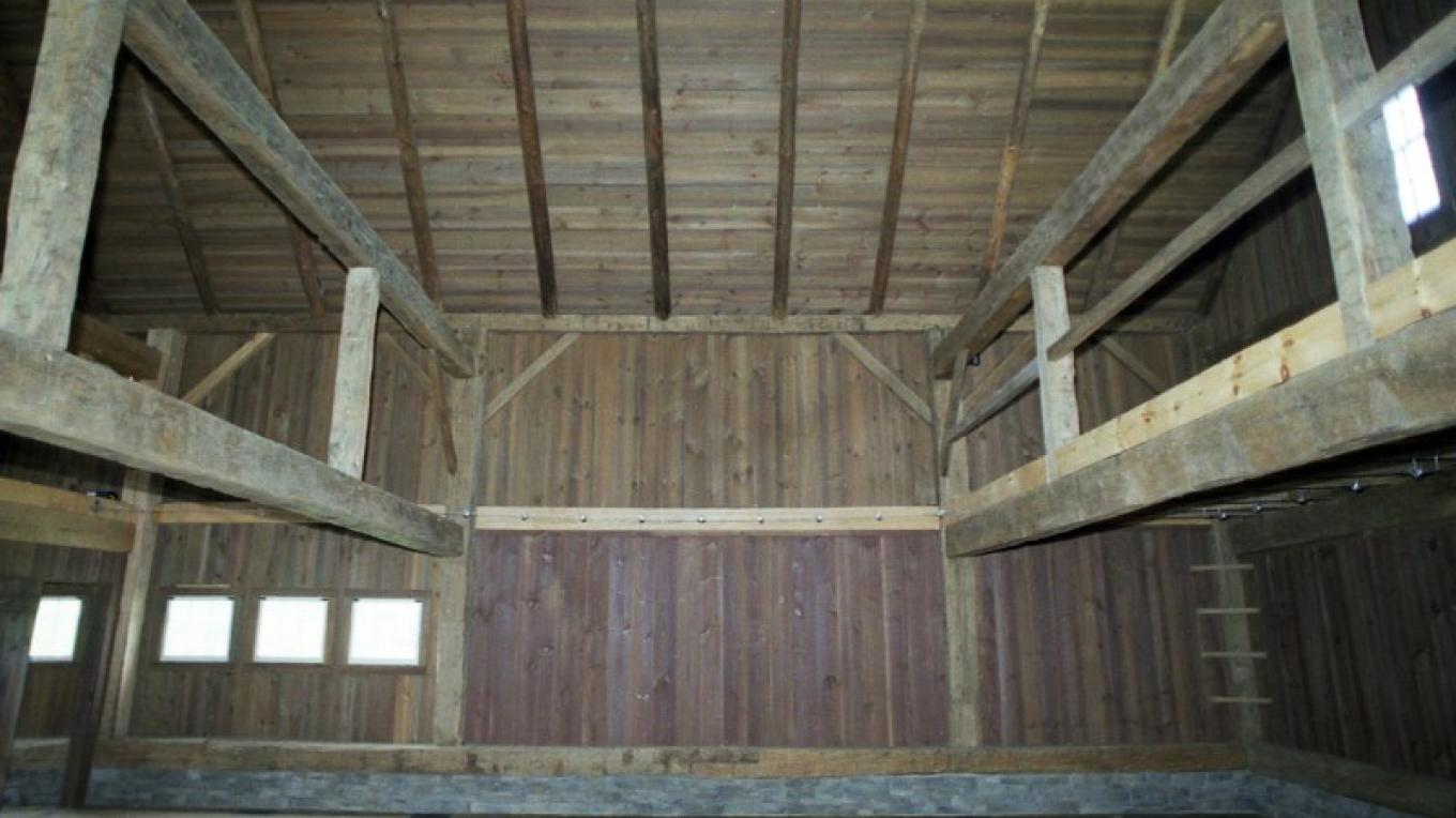 German Barn interior – The Persistence Foundation